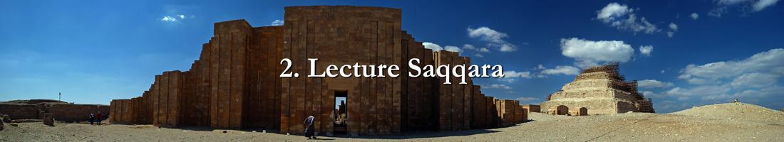 Lecture Saqqara
