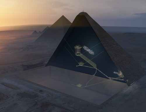 Cosmic rays have revealed a new chamber in Egypt's Great Pyramid