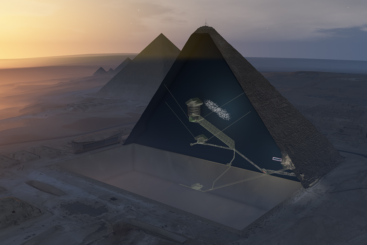 Great Pyramid Big Void