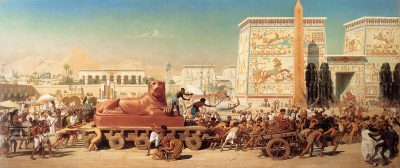 Israel in Egypt (1867) - Sir Edward John Poynter (British, 1836-1919)