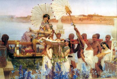 The Finding of Moses (1904) - Lawrence Alma-Tadema (Dutch, 1836-1912)