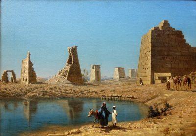 Desert Oasis (1873) - Frank Waller (American, 1842-1923)