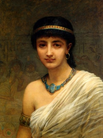 A Votary of Isis - Edward Longsden Long (British, 1829-1891)