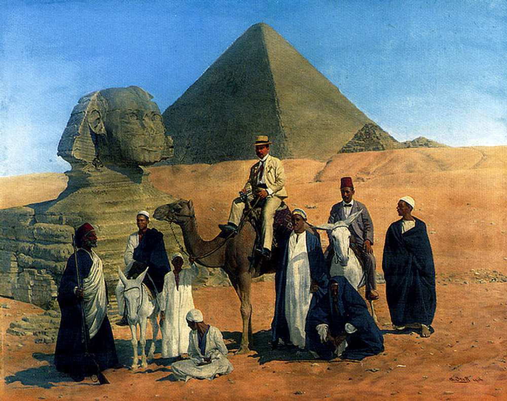 In Search of the Pharaohs (1906) - Alois Stoff (Austrian, 1846-1906)