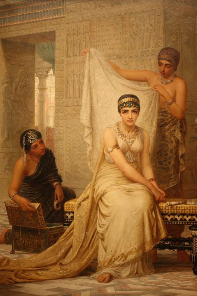 Queen Esther (1878) - Edwin Longsden Long (British, 1829-1912)