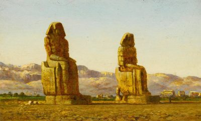 The Colossi of Memnon - Edward Mills (British, 1882-1918)