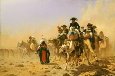 Napoleon and his General Staff in Egypt (1867) - Jean Léon Gerôme (1824-1904)