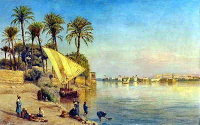 Along the Nile - Edward Lord Weeks (American, 1849-1903)
