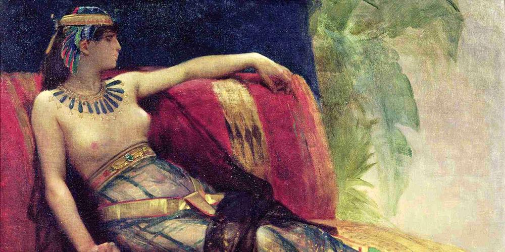 Cleopatra - Arthur Frederick Bridgman (British, 1847-1928)
