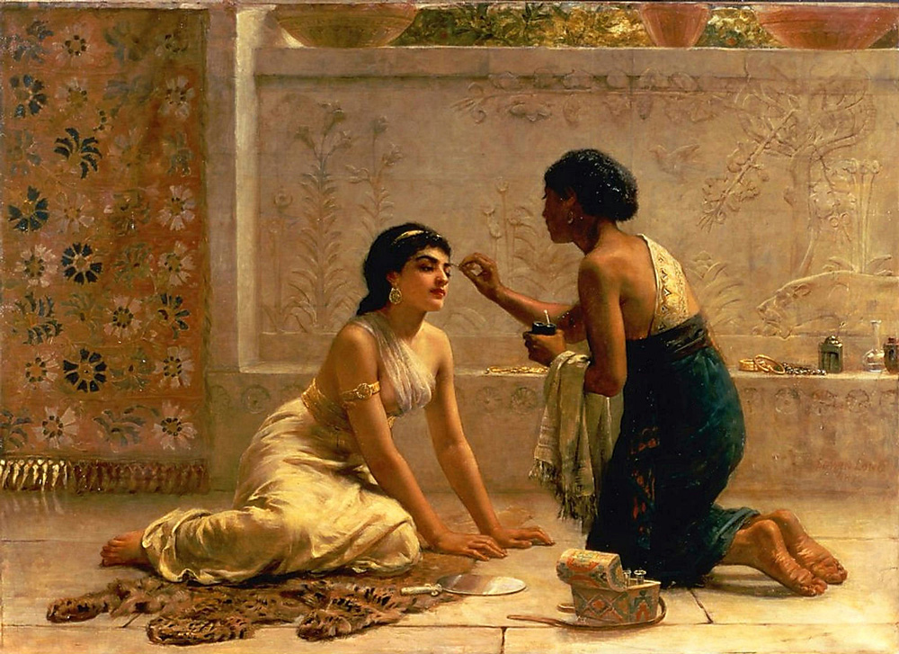 An Ancient Custom - Edwin Longsden Long (British, 1829-1891)