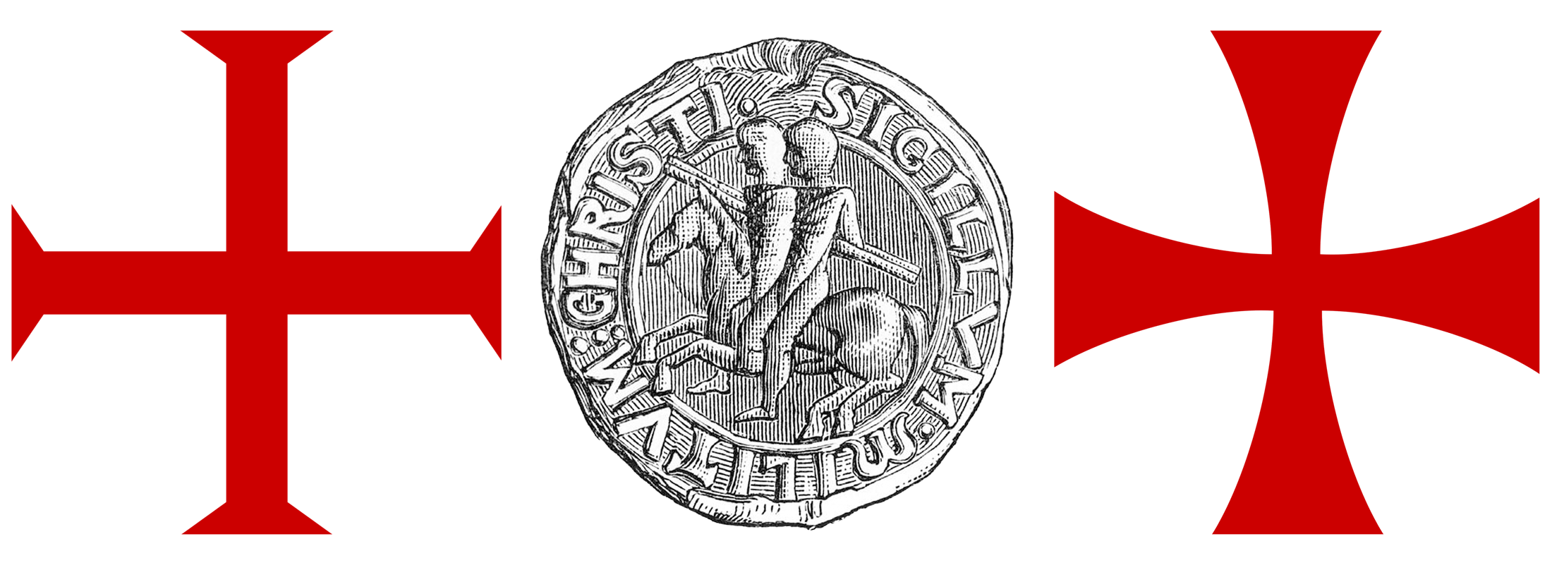 Seal and Cross of the Knights Templar