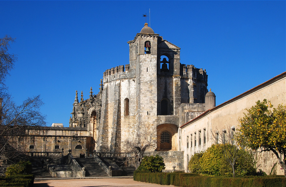 Templar castle at Tomar, Portugal
