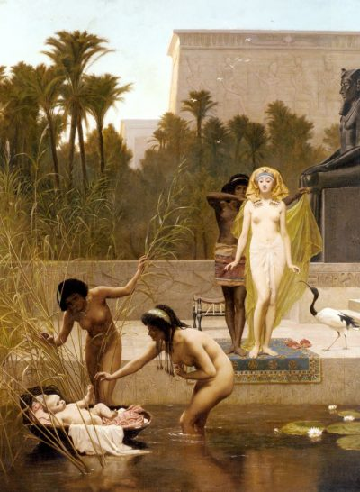 The Finding of Moses - Frederick Goodall (British, 1822-1904)